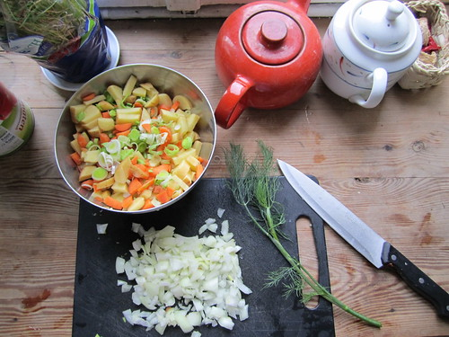 Makings of a Soup | by veganbackpacker