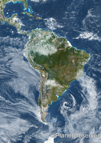 When Was South American Last Isolated Island