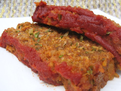 Vegan Meatloaf | by myveggiekitchen