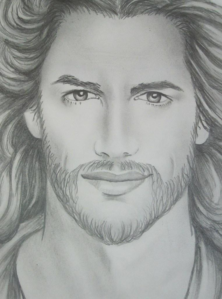 Jesus sketch | Jim m. Berberich | Flickr