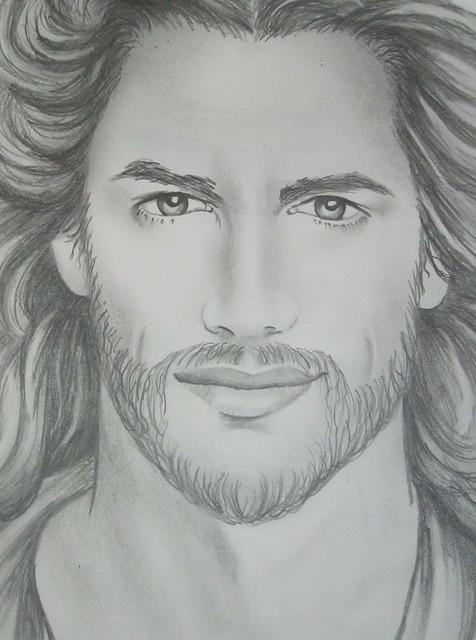 Jesus sketch | Flickr - Photo Sharing!  Jesus sketch | ...