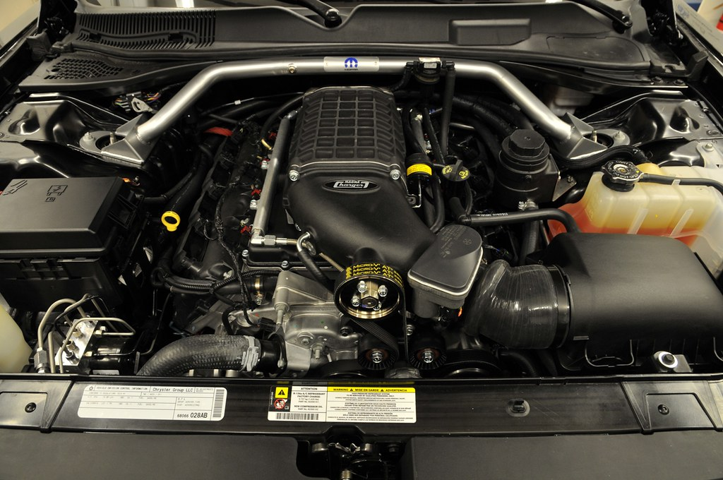 Supercharged By Magnacharger Dodge Challenger Rt 5 7 Hemi