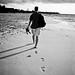 long walk on the beach
