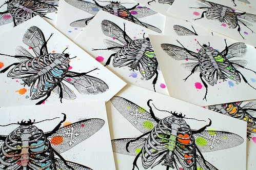 """Bug 4 Life"" - Snub-Nose Prints @ Brooklynite Gallery 