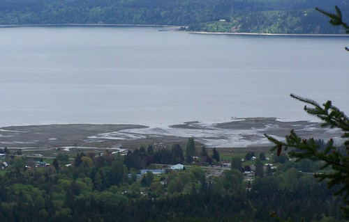Dosiwallips River Delta Hood Canal from Mount Jupiter | by PNPTC