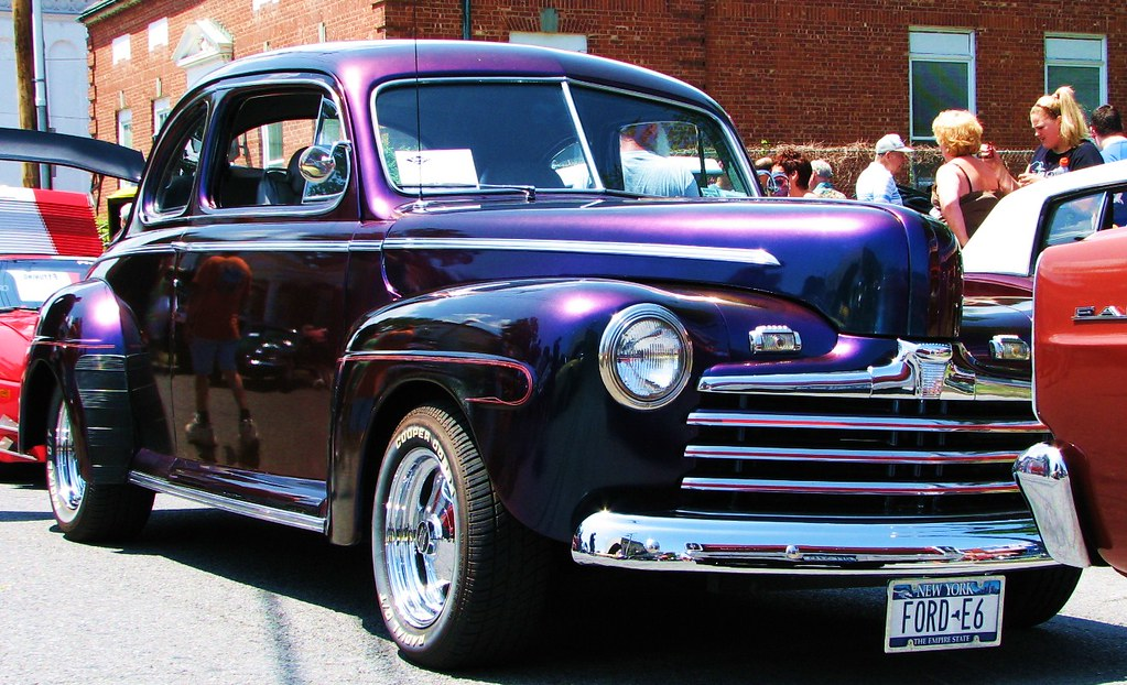 A 1948 ford coupe in july 2010 at the 2010 sawyer motors for Sawyer motors used cars