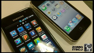 Samsung Galaxy S vs iPhone 3GS | by clintonjeff