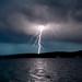 Lightning over Sunapee
