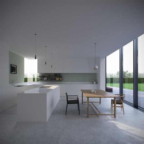 Kitchen Set Sketchup: A Beautifully Re-designed House By