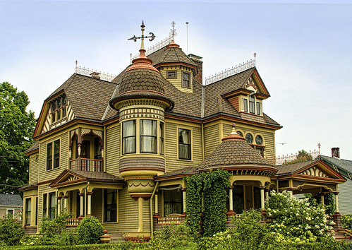 The Painted Lady This Is Most Elaborate Victorian I