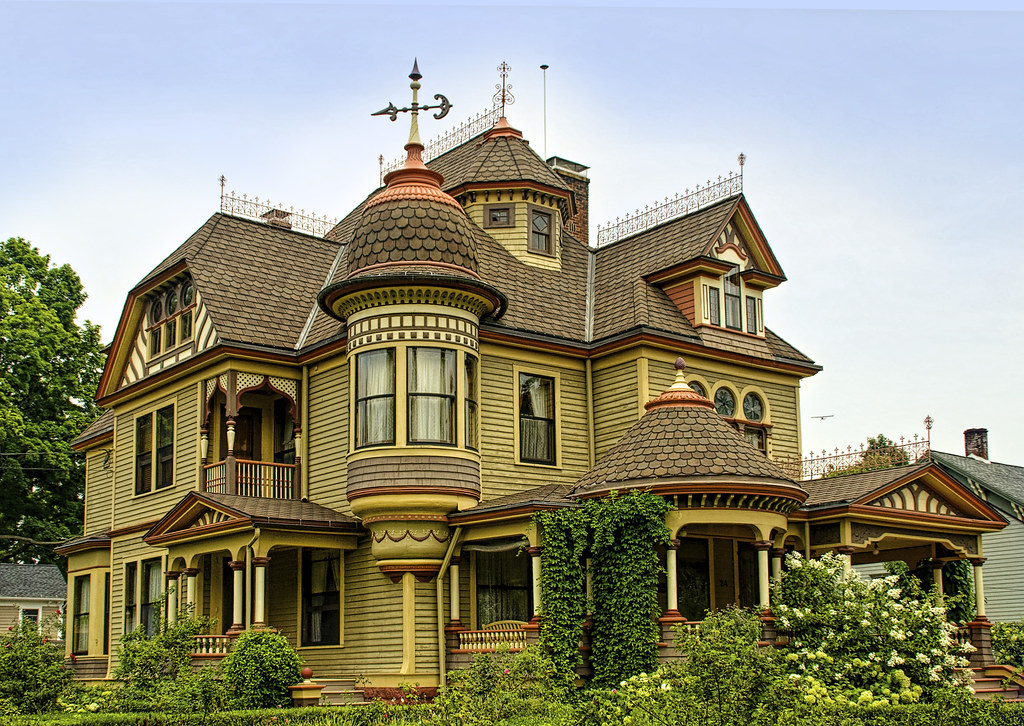 The Painted Lady This Is The Most Elaborate Victorian I