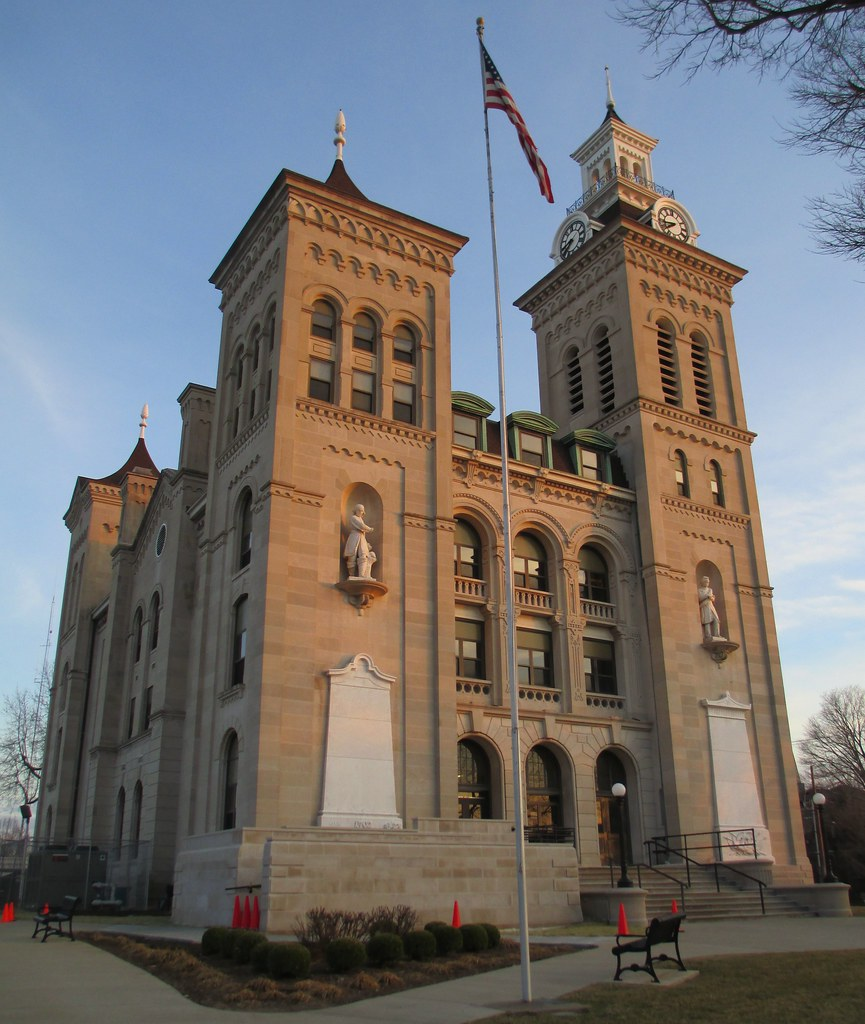 Indiana knox county ragsdale -  Knox County Courthouse Vincennes Indiana By Courthouselover