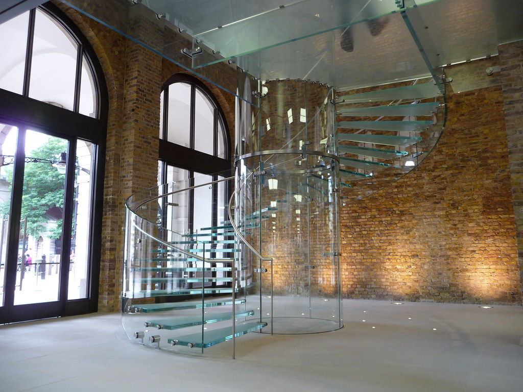 High Quality ... Iconic Glass Spiral Staircase At Apple Flagship Store In Covent Garden  | By CCS Insight