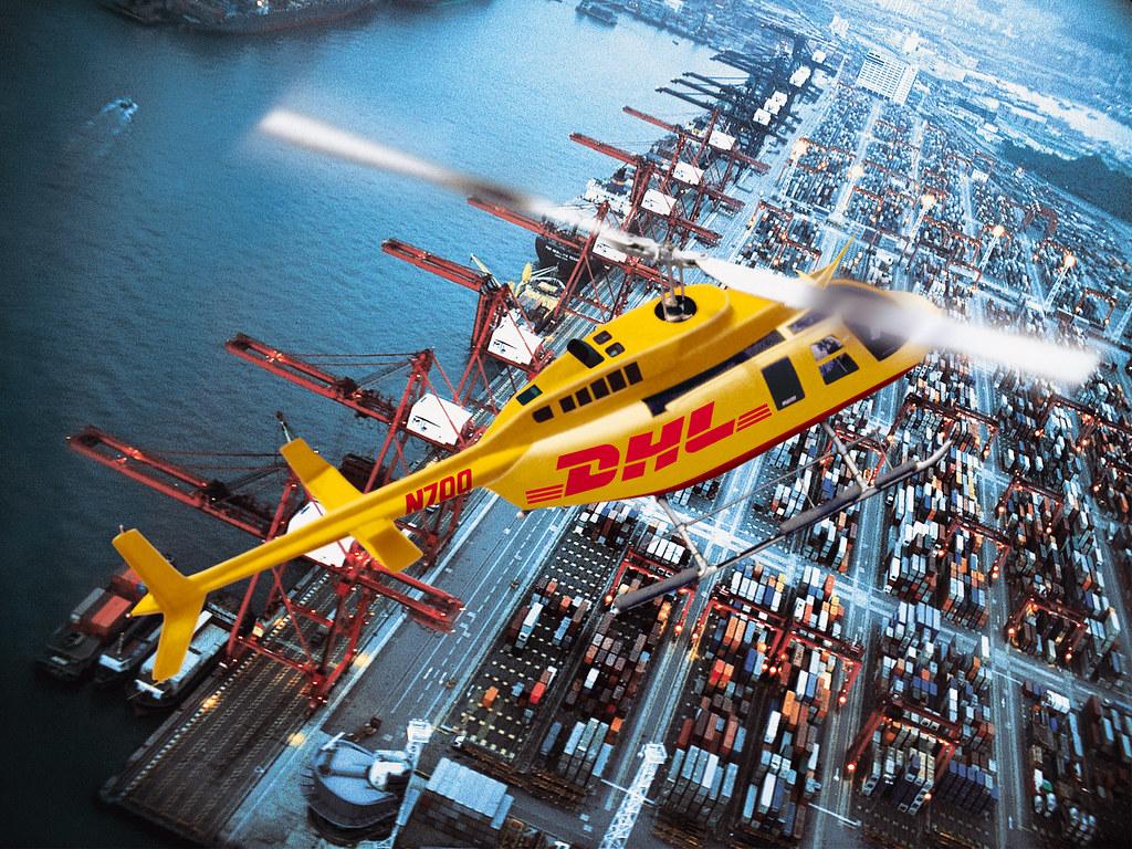 DHL helicopter | Deutsche Post DHL | Flickr