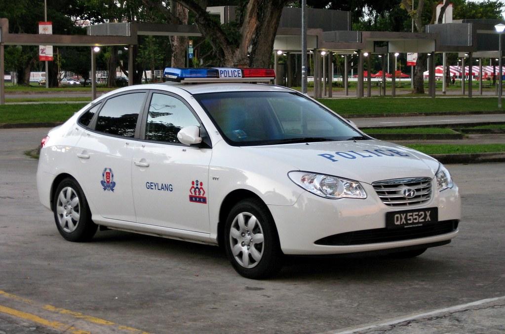 Singapore Police Force Hyundai Avante Fast Response Car   Flickr