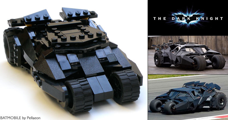 lego tumbler from the dark knight my custom lego. Black Bedroom Furniture Sets. Home Design Ideas