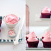 pink (red) velvet cupcakes