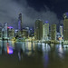 Panorama - Brisbane by Night - from the Story Bridge