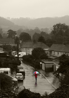 Walking in the rain | by horrigans