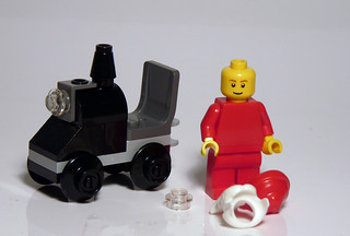 2824 - LEGO 2010 CITY Advent - Day 24 - Unmasked | by Reasonably Clever Chris