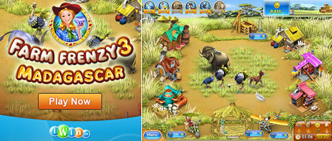 Farm Frenzy 3 - Madagascar | Join Scarlett as she pitches in