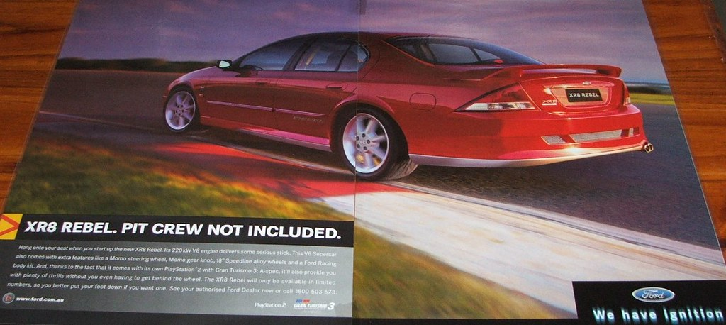 2001 Ford Au Falcon Series 3 Xr8 Rebel Limited Edition T Flickr
