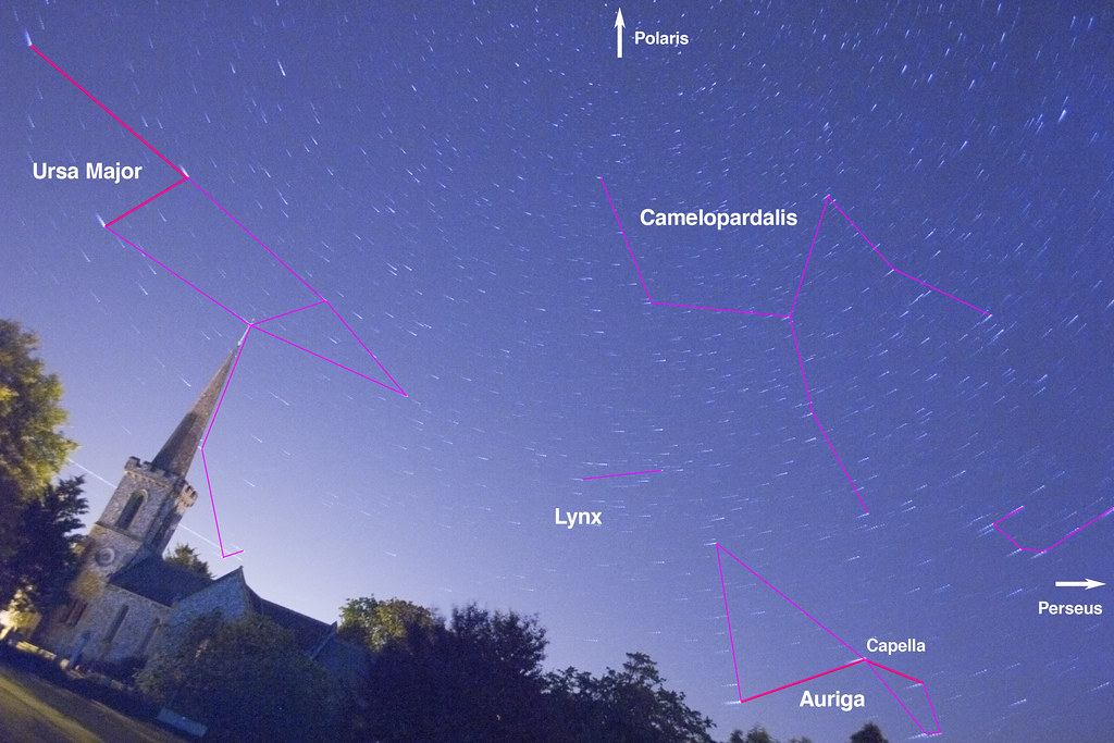 Night Sky Chart: Firmament over Stanmer Church | The constellation markings iu2026 | Flickr,Chart