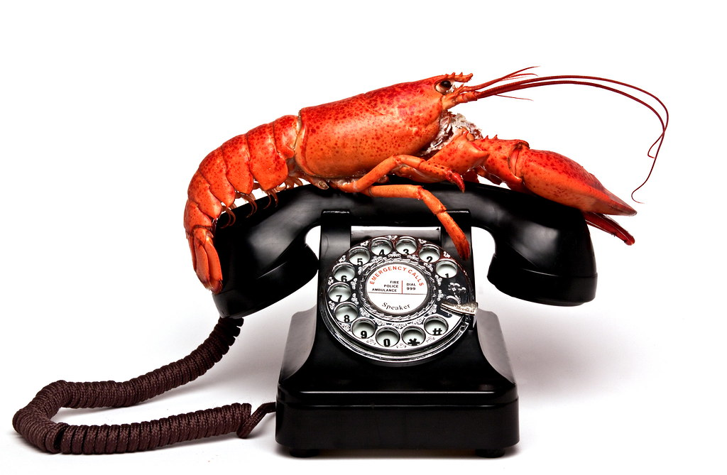 Salvador Dali - Lobster Phone | Nicki Castle | Flickr