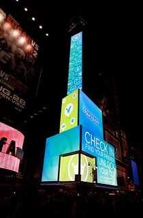 woah @foursquare taking over times square thx @baaxpee98 | by @WillMcD