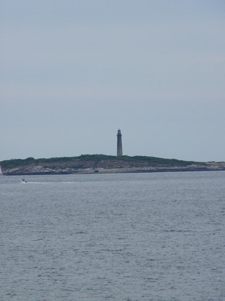 Thacher Island Twin Lighthouses Cape Ann Massachusetts
