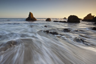 Sweeping Waves - El Matador State Beach, Malibu, California | by D Breezy - davidthompsonphotography.com