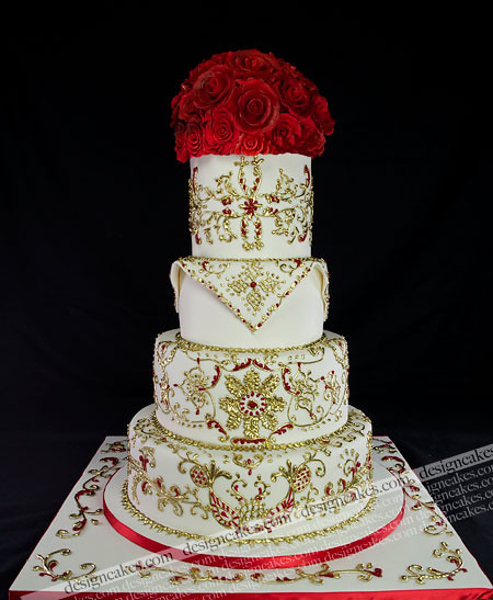 indian wedding cake henna design henna wedding cake christine pereira flickr 16415