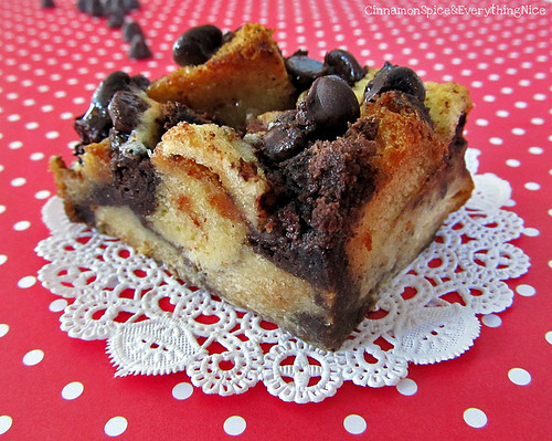 S'mores Bread Pudding Bars | by CinnamonKitchn
