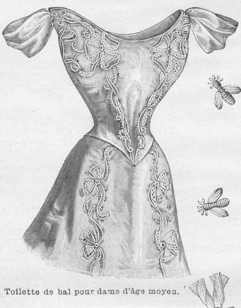 Robe de bal 1898