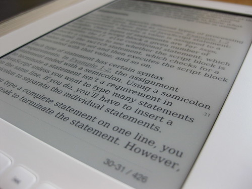 iRiver Story eBook Reader Review | by Andrew Mason