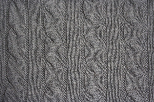 Cashmere Cable Knit | by stolte-sawa
