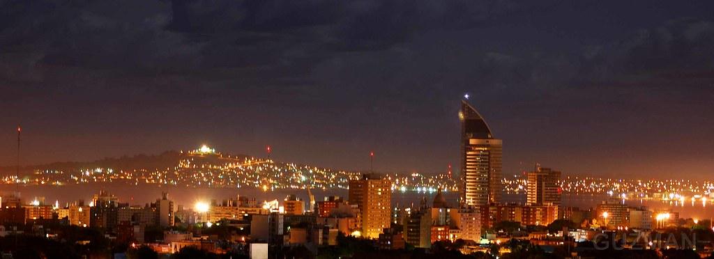 Paisaje Ciudad Nocturna Vista Nocturna De La Ciudad De Mo Flickr