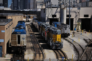Locomotives at the Amtrak Diesel Shops | by vxla