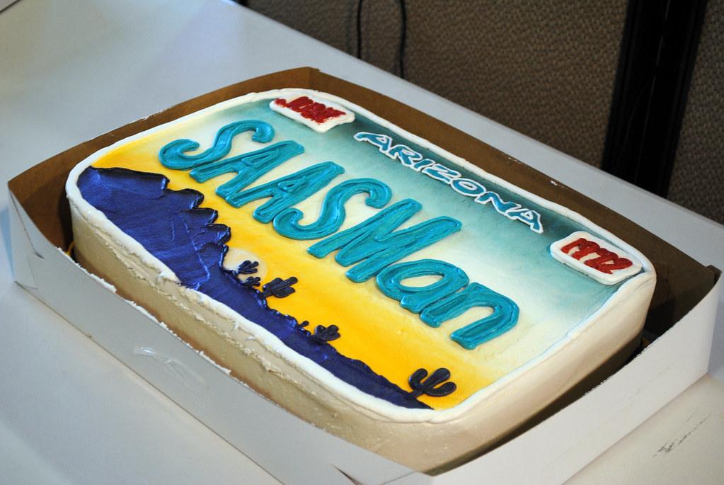 Marketing Birthday Cake