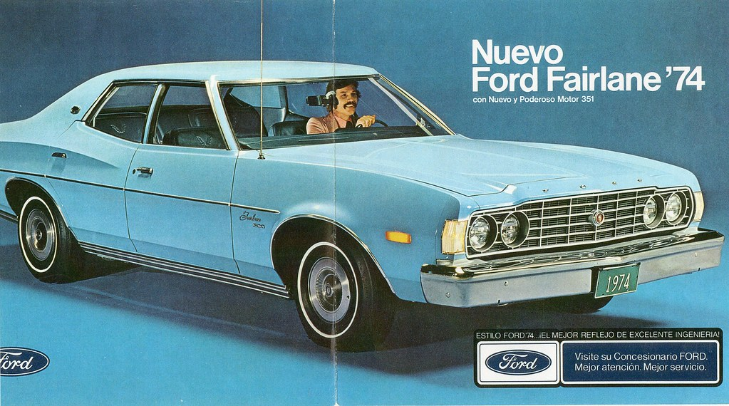 New Ford Torino >> 1974 Ford Fairlane 500 (Venezuela) | Ford of Venezuela kept … | Flickr