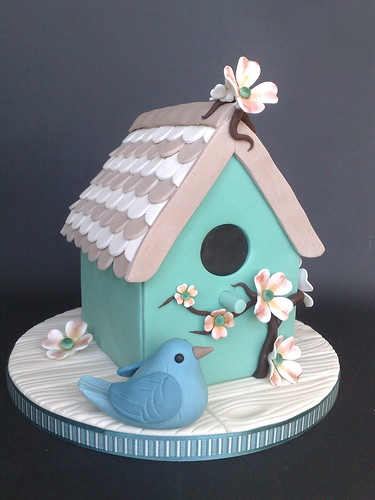 Shabby Chic Bird House Cake This Cake Was My Donation To