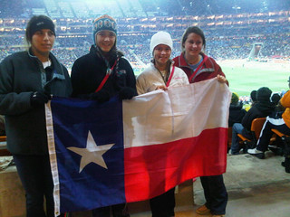Highland Park Girls with Texas flag | by The Wilson Foundation