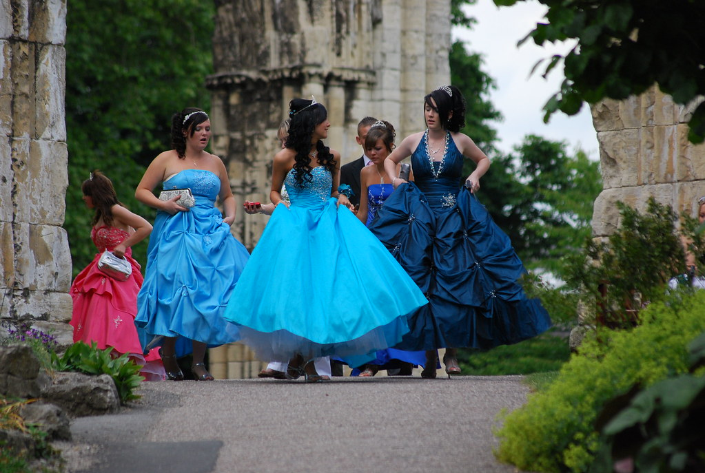 Chav wedding? | Also in York Museum Gardens and judging by t… | Flickr