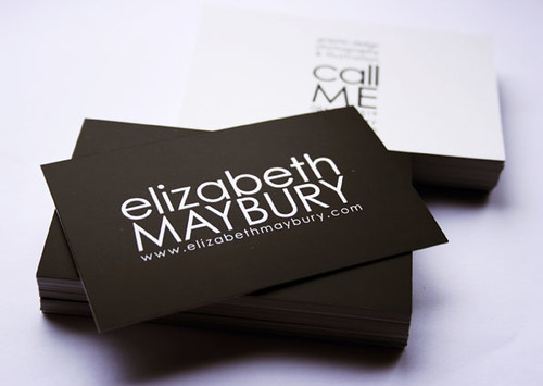 Elizabeth Maybury Business Cards | by Liz Maybury