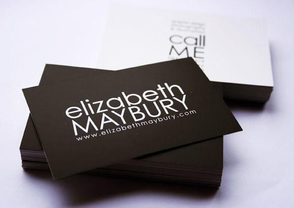 Elizabeth maybury business cards better photo of my busine flickr elizabeth maybury business cards by liz maybury colourmoves