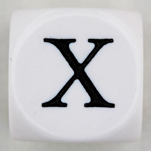 10: Roman Numeral X [10]