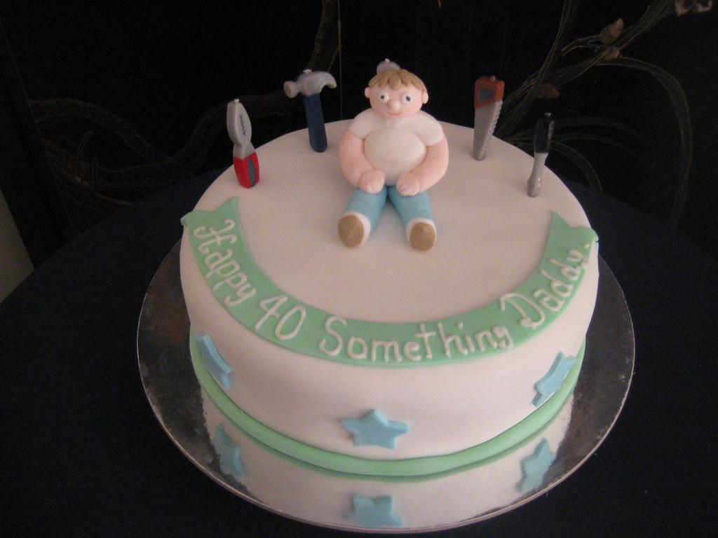 Tools Birthday Cake For A Dad Chantelle Kahil Flickr
