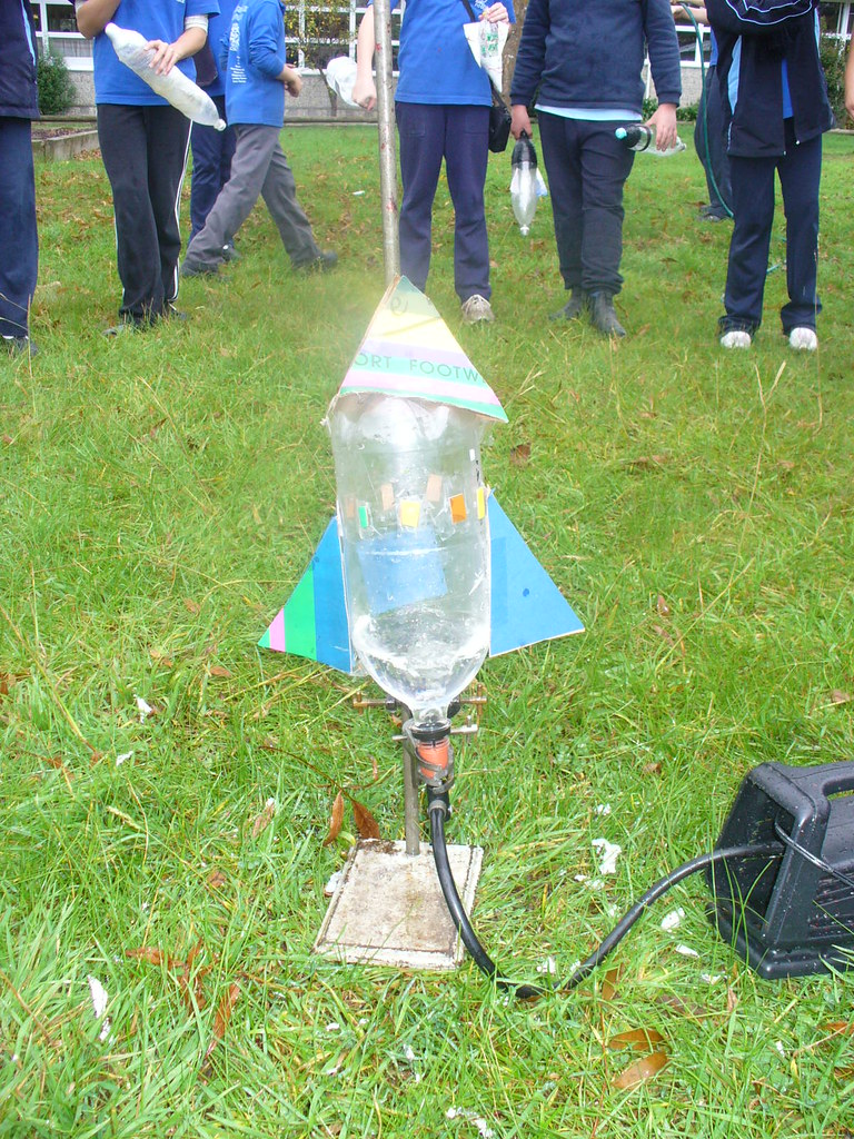 water rockets an investigational experiment Exploding pop rockets we gathered our rockets, the antacid tablets, and a bottle of water and headed outside this activity can get pretty messy, especially if you are like us and launch your rocket dozens of times.