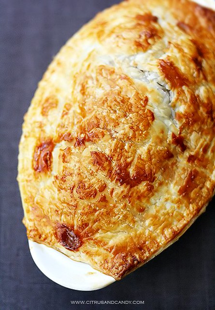 Beef and Red Wine Pot Pie with Braised Cabbage | Flickr ...