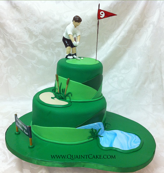 Golf Ideas For Cakes